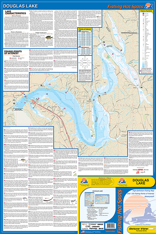 douglas lake fishing map Douglas Lake Fishing Map douglas lake fishing map