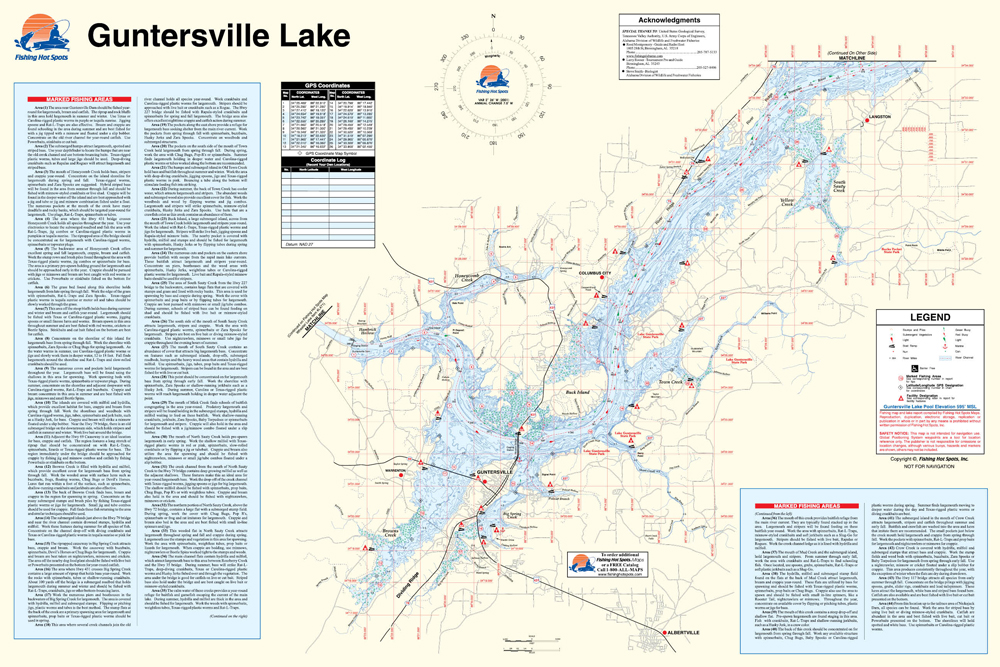 Lake Guntersville State Park Map Niagara Falls Comedy Club